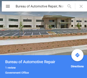 Bureau of Automotive Repair, Rancho Cordova, CA