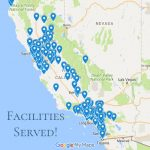 California Facilities We Have Served